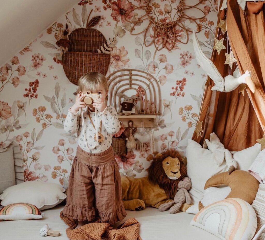 Kinderzimmerideen im Boho Style