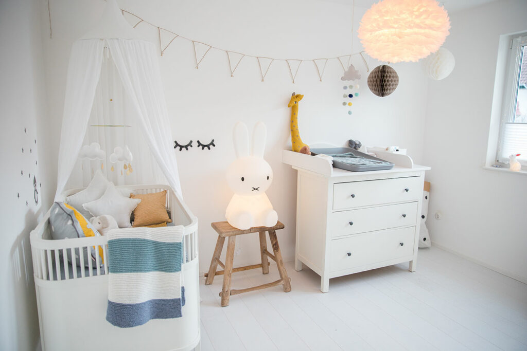 Sebra Kinderbett in Weiß